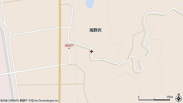 山形県酒田市生石滝野沢5周辺の地図