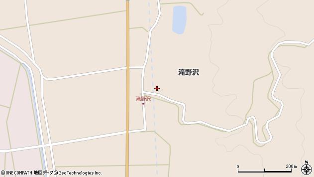 山形県酒田市生石滝野沢76周辺の地図