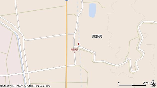 山形県酒田市生石滝野沢77周辺の地図