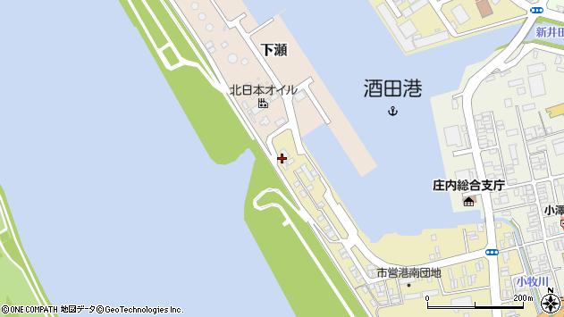 山形県酒田市入船町9周辺の地図