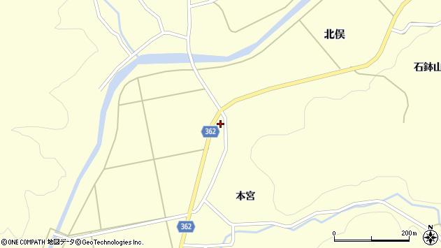 山形県酒田市北俣中川原9周辺の地図