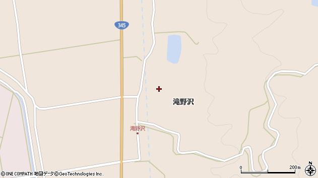 山形県酒田市生石滝野沢98周辺の地図