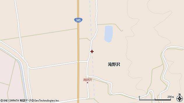 山形県酒田市生石滝野沢100周辺の地図