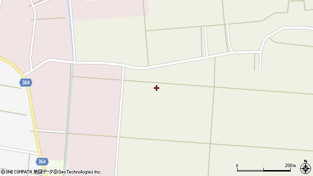 山形県酒田市手蔵田落合周辺の地図