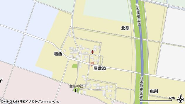 山形県酒田市土崎屋敷添66周辺の地図