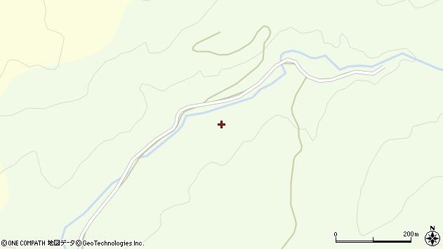 山形県酒田市中野俣大平周辺の地図