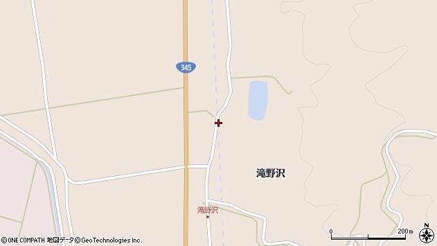 山形県酒田市生石滝野沢103周辺の地図