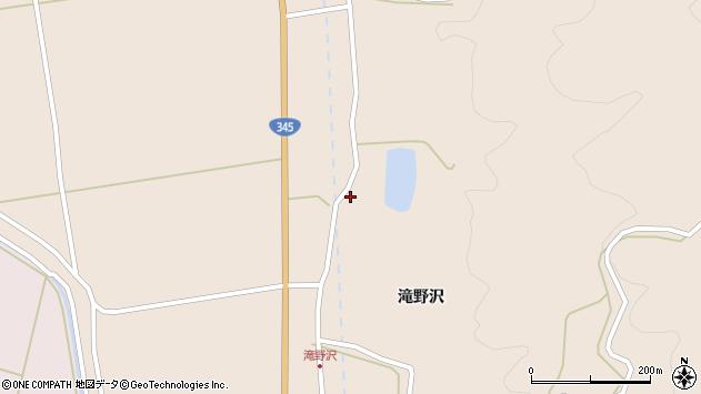 山形県酒田市生石滝野沢106周辺の地図