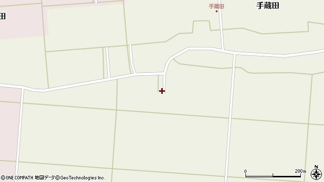 山形県酒田市手蔵田塚田16周辺の地図
