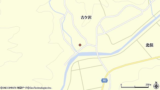 山形県酒田市北俣吉ケ沢128周辺の地図