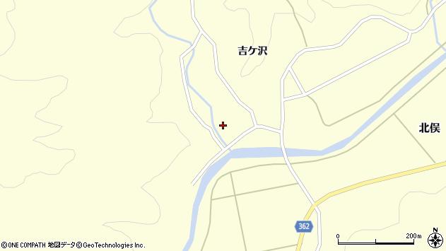 山形県酒田市北俣吉ケ沢127周辺の地図