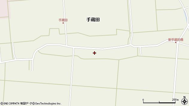 山形県酒田市手蔵田村建106周辺の地図