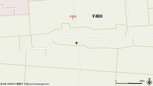 山形県酒田市手蔵田蔵南37周辺の地図