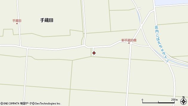 山形県酒田市手蔵田村建80周辺の地図