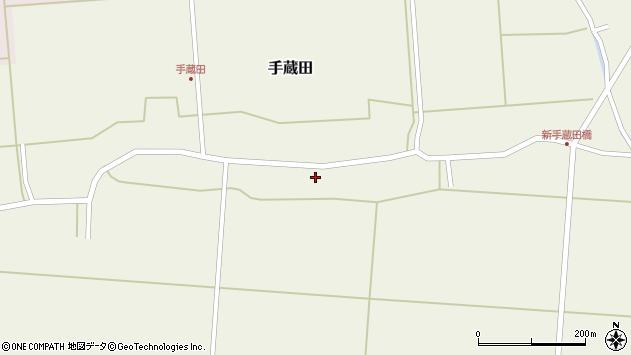 山形県酒田市手蔵田村建104周辺の地図