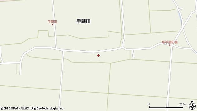 山形県酒田市手蔵田村建103周辺の地図