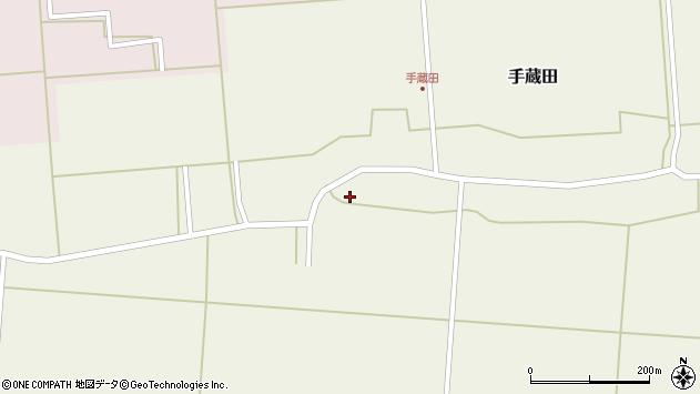 山形県酒田市手蔵田蔵南29周辺の地図