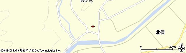 山形県酒田市北俣吉ケ沢118周辺の地図