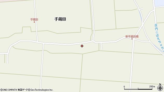 山形県酒田市手蔵田村建98周辺の地図