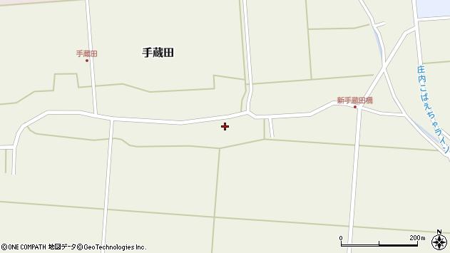 山形県酒田市手蔵田村建92周辺の地図