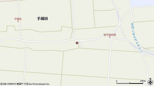 山形県酒田市手蔵田村建79周辺の地図