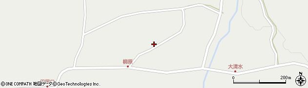 山形県最上郡金山町有屋120周辺の地図