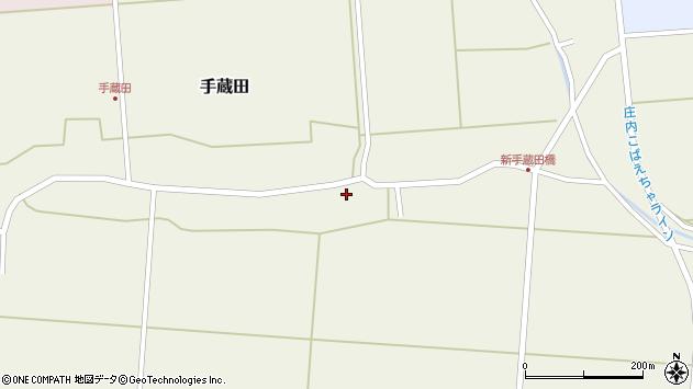 山形県酒田市手蔵田村建91周辺の地図