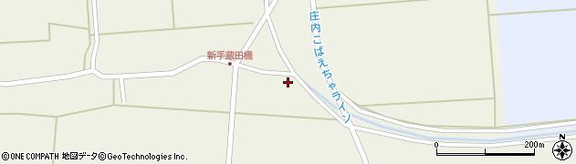 山形県酒田市手蔵田村上32周辺の地図