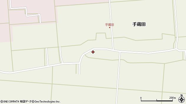 山形県酒田市手蔵田蔵南48周辺の地図