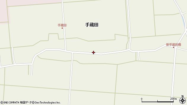 山形県酒田市手蔵田村建61周辺の地図