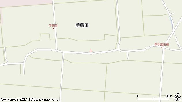 山形県酒田市手蔵田村建63周辺の地図