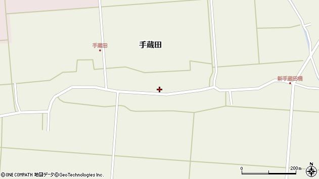 山形県酒田市手蔵田村建62周辺の地図
