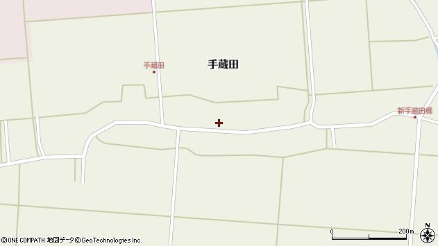 山形県酒田市手蔵田村建60周辺の地図