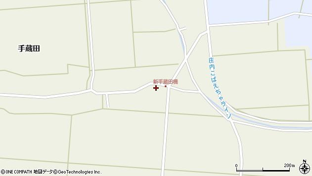 山形県酒田市手蔵田船通北3周辺の地図