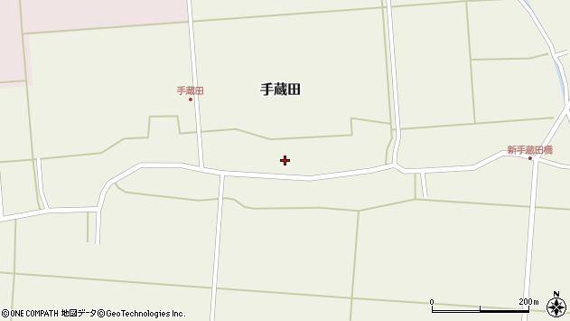 山形県酒田市手蔵田村建57周辺の地図