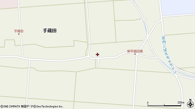山形県酒田市手蔵田村建9周辺の地図