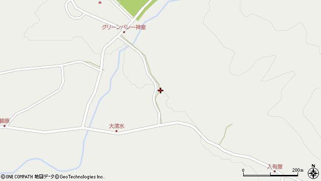 山形県最上郡金山町有屋57周辺の地図