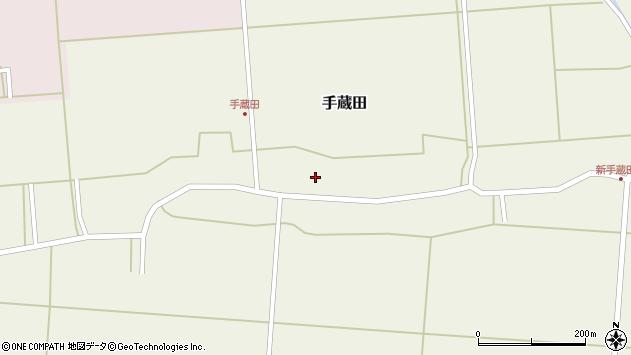 山形県酒田市手蔵田村建115周辺の地図