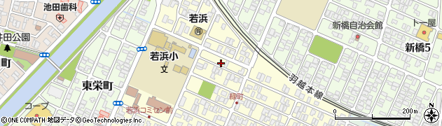 山形県酒田市若浜町2周辺の地図