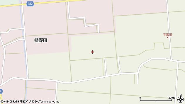 山形県酒田市手蔵田小堤81周辺の地図