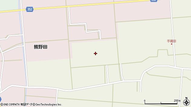 山形県酒田市手蔵田小堤80周辺の地図