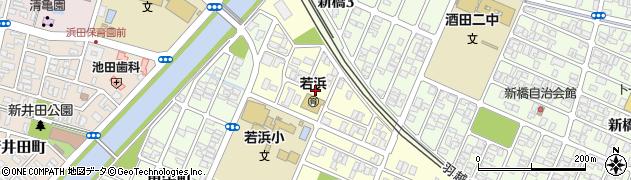 山形県酒田市若浜町21周辺の地図