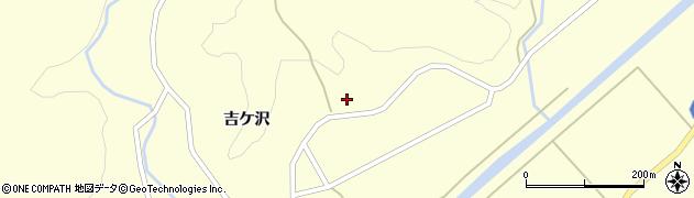 山形県酒田市北俣吉ケ沢96周辺の地図