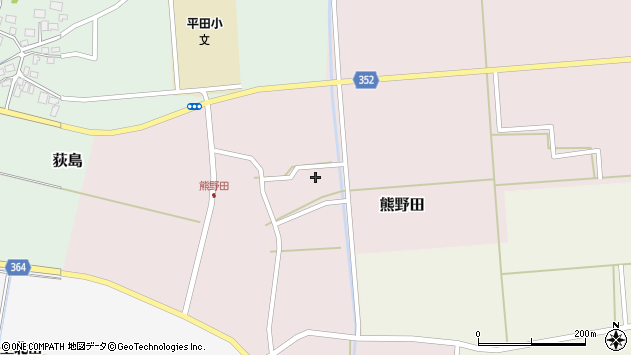 山形県酒田市熊野田高砂73周辺の地図