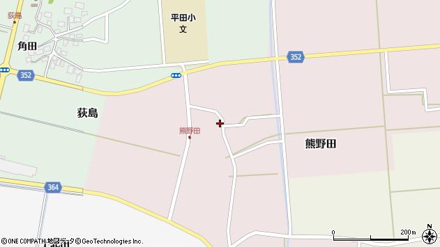 山形県酒田市熊野田仁田41周辺の地図