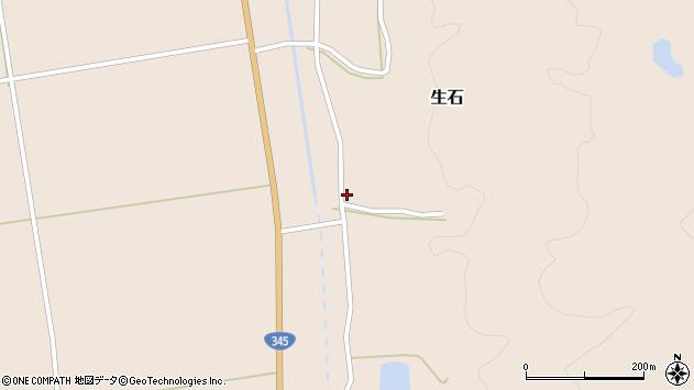 山形県酒田市生石十二ノ木21周辺の地図