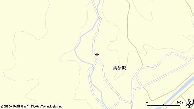 山形県酒田市北俣沢田18周辺の地図