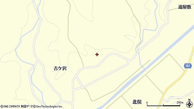 山形県酒田市北俣吉ケ沢80周辺の地図