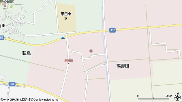 山形県酒田市熊野田高砂61周辺の地図