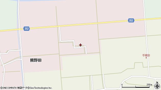 山形県酒田市熊野田上廻61周辺の地図